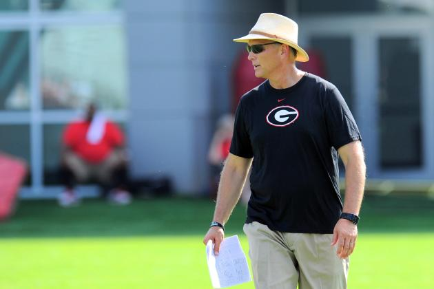 Richt: Floyd Wasn't Faking Injury