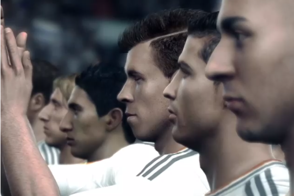 EA Sports Release Video of Gareth Bale at Real Madrid in FIFA 14
