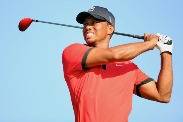 Tiger Woods at Deutsche Bank Championship 2013 Tracker: Live Day 4 Highlights