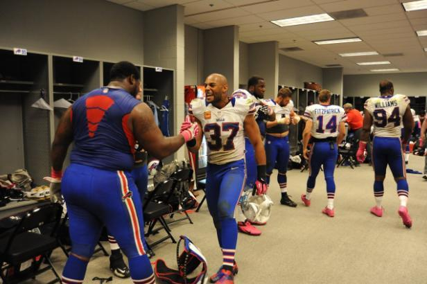 Bills Name Team Captains for 2013