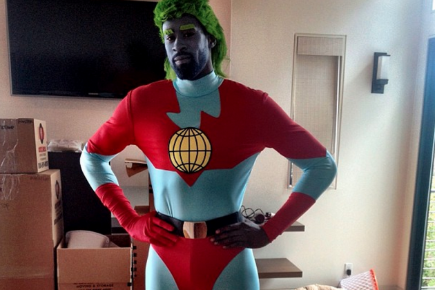 Blake Griffin and DeAndre Jordan Dress Up for Jordan's Costume Party