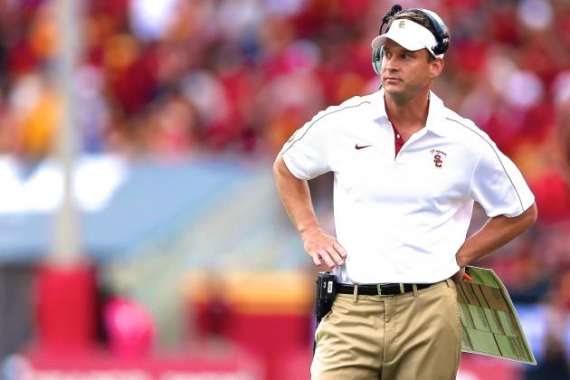 Lane Kiffin Silent on USC Starting QB, Hopes Silas Redd Will Return This Week