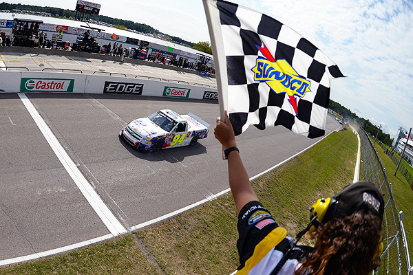 Elliott, 17, Youngest to Win on Truck Series