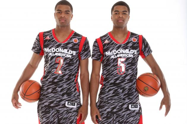 UK Signees Harrison Twins, Dakari Johnson