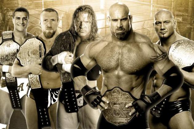 WWE's 15 Best World Heavyweight Champions
