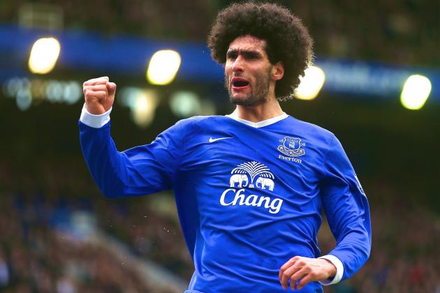 Marouane Fellaini Transfer News and Rumours: Latest Updates for Deadline Day