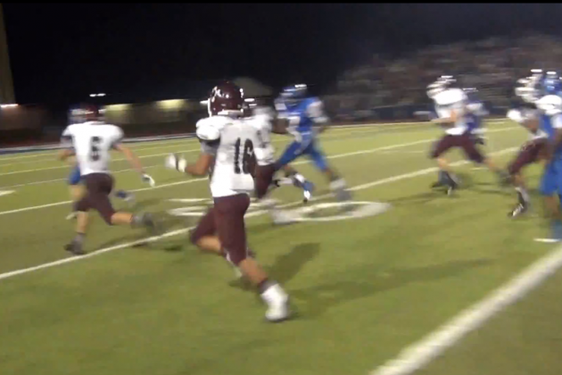 Texas High School Football Team Scores a Game-Winning Touchdown off a Squib Kick