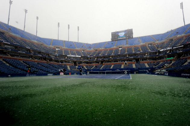US Open Tennis 2013 Results: Early Day 8 Scores and Highlights