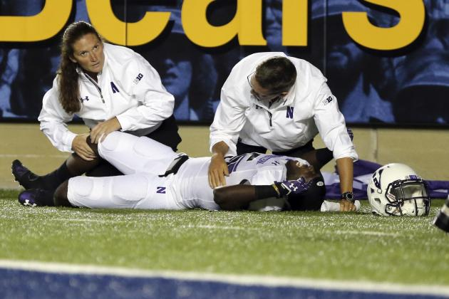 Starting Northwestern Corner Suffers Season-Ending Injury
