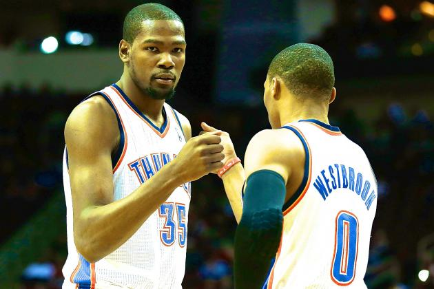 Are Kevin Durant & Russell Westbrook the Most Dynamic 1-2 Punch in the NBA?