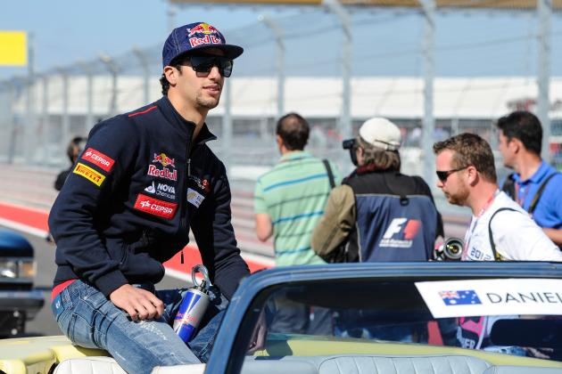 Daniel Ricciardo Confirmed as Red Bull Driver for 2014