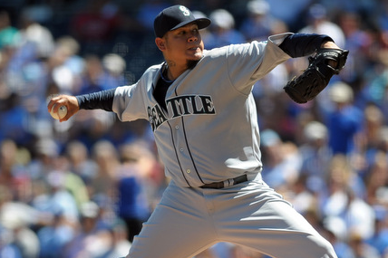 Felix Hernandez Exits Start with Lower Back Cramp