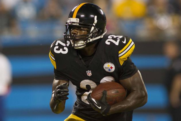 Steelers RB Jones Makes Bid to Be Starter