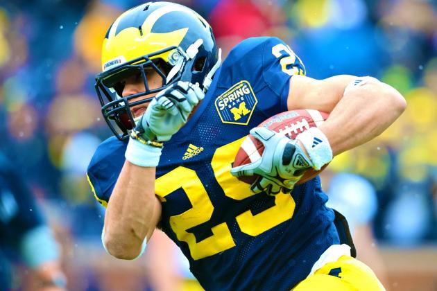 Michigan RB Drake Johnson out for 2013 Season