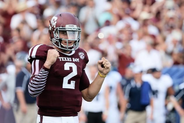 Texas A&M Football: Aggies  Johnny Manziel Is the Victim of a Double Standard
