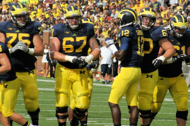 Offensive Line Concerns Linger as Michigan Prepares for Notre Dame