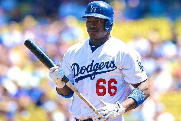 Yasiel Puig Injury: Updates on Dodgers Star's Knee, Likely Return Date