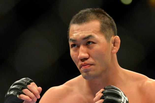 Yushin Okami Wants to 'Smash' Jacare Souza and Prove He's the No. 1 Middleweight