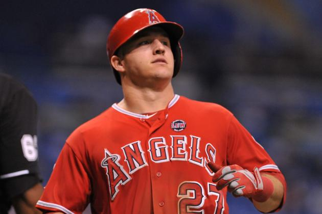 Trout Is Youngest Player to Post 2 Seasons of 20+ HR and 30+ Stolen Bases