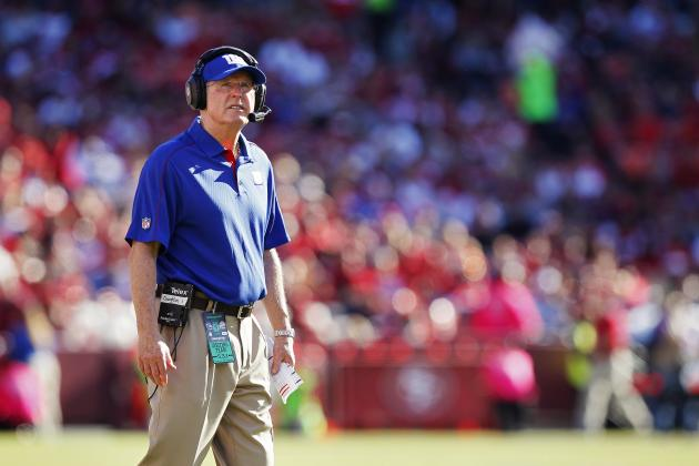 Tom Coughlin Guiding New (Look) York Giants in 2013