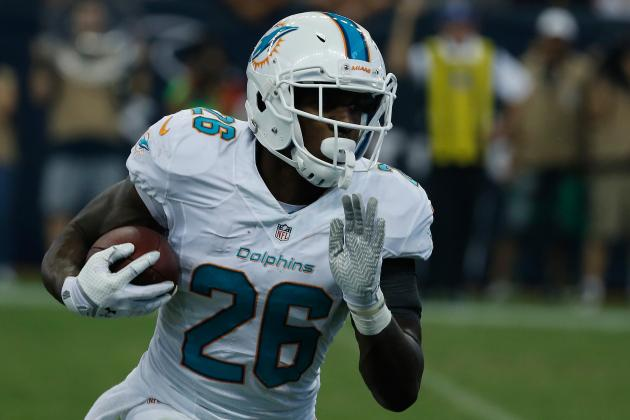 Lamar Miller Gets Call to Start in Backfield