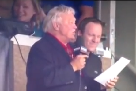 Bobby Hull Sings Bizarre Rendition of 'Take Me Out to the Ballgame'