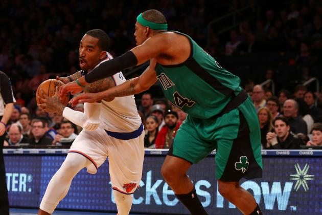 JR Smith '100 Percent Sure' Knicks Win Title, Pierce's Words 'Have Consequences'