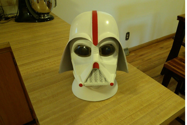 Photos: Nebraska Fans Are Making Absurd Darth Vader Cornhuskers Helmets