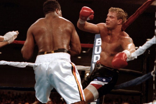 The Grim Dance: Tommy Morrison, Ray Mercer and the Punch That Stole a Man's Soul