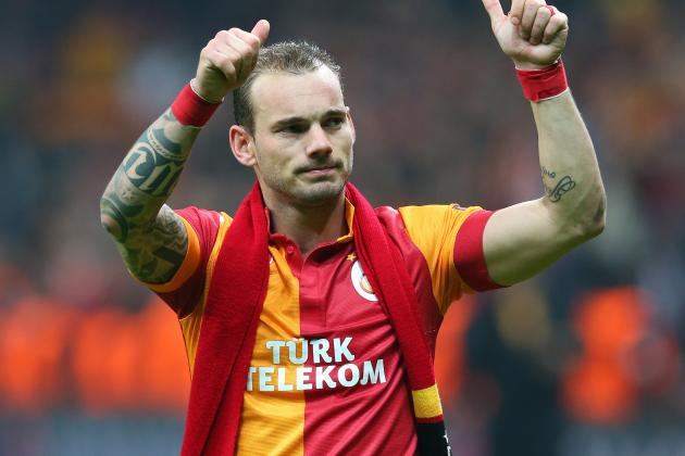 Manchester United Transfer News: Late Wesley Sneijder Interest Revealed