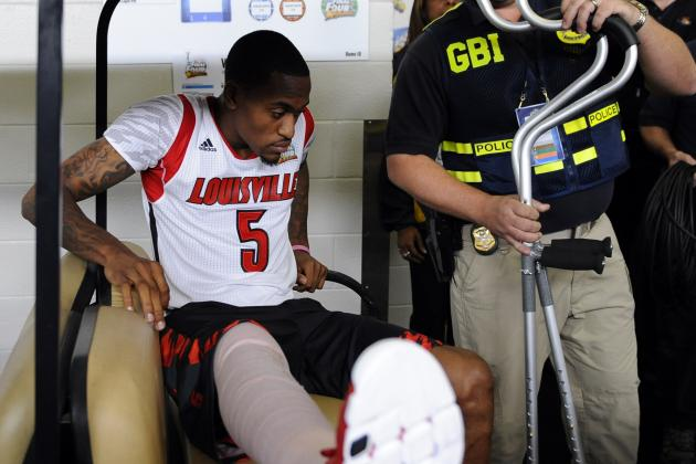 Kevin Ware's Status Remains Uncertain for Upcoming Season