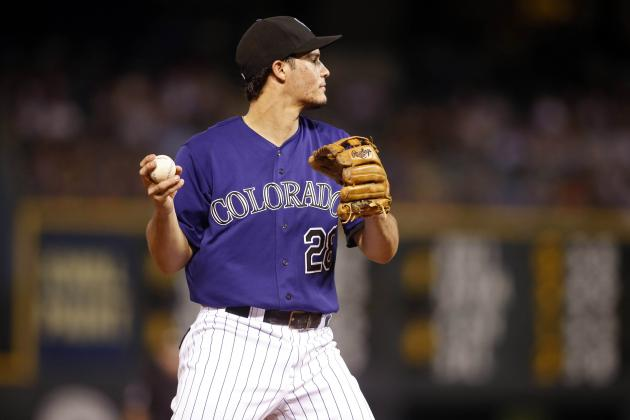 Arenado Entering Gold Glove Talk as Rookie