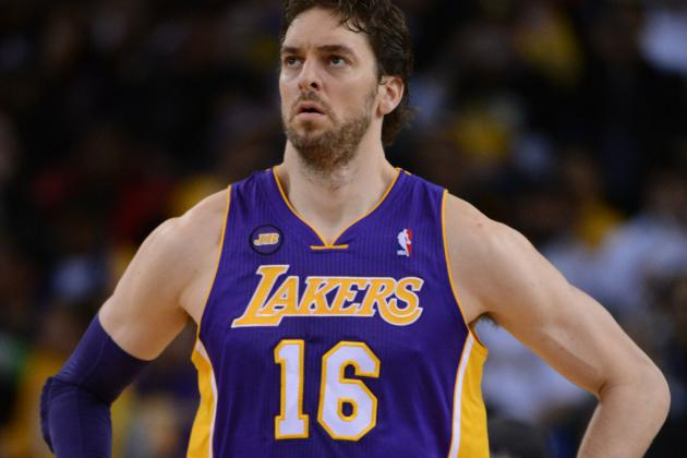 Gasol Advances Rehab to Basketball-Related Activities