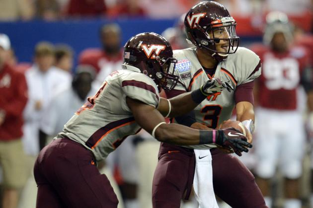 Edmunds Stars in Debut for Hokies
