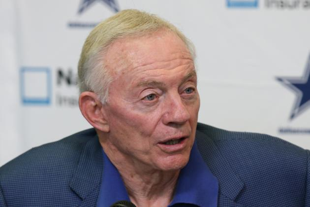 Jerry Jones so Excited About Making Amends in 2013 He Can't Sleep