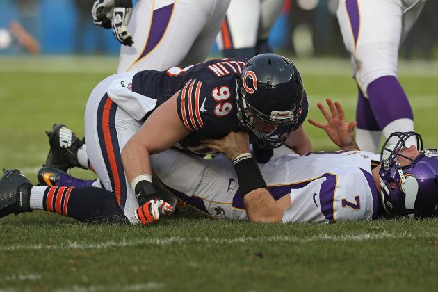 Bears Reveal First Regular-Season Depth Chart