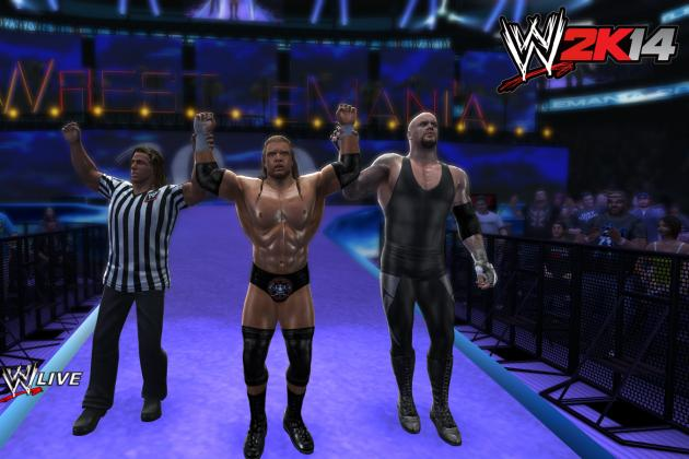 WWE 2K14: Expanded Arena Types Open Up Presentation Possibilities