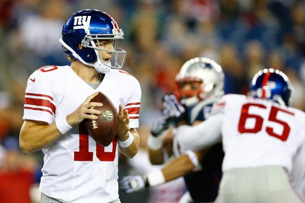 Breaking Down the New York Giants' Preseason Red-Zone Woes