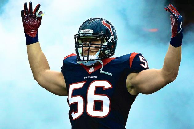 Brian Cushing Reportedly Signs 6-Year Extension with Houston Texans