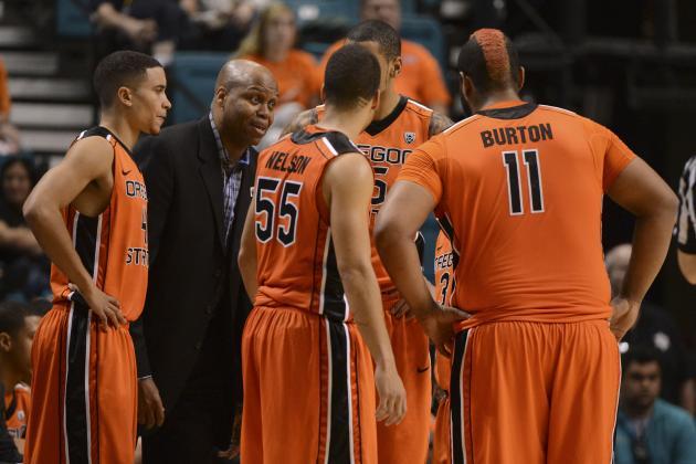 Oregon State Sets 2013-14 Men's Basketball Schedule
