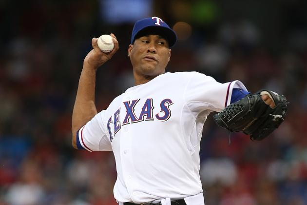 Rangers Activate RHP Alexi Ogando from Disabled List