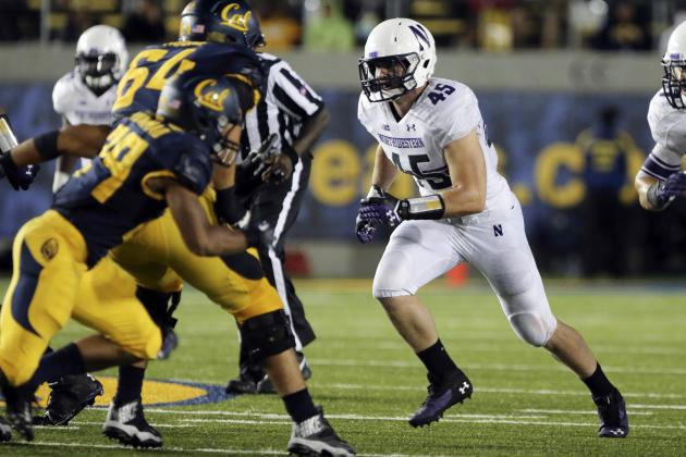 Northwestern Football: Collin Ellis Named National Defensive Player of the Week