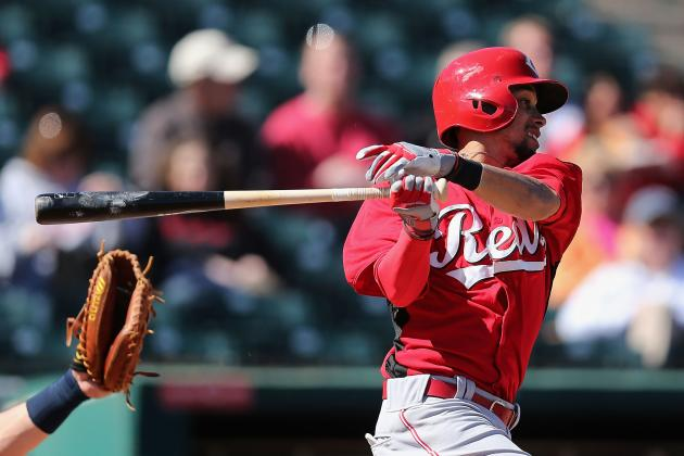 Minor League Thefts Record-Holder Billy Hamilton Steals Second Base in MLB Debut