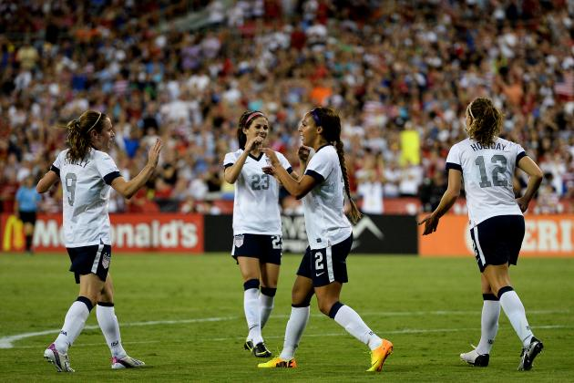 USA vs. Mexico Women's Soccer: Score, Grades and Post-Match Analysis