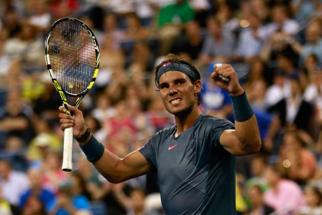 US Open Tennis 2013: Complete Preview for Remaining Men's Bracket