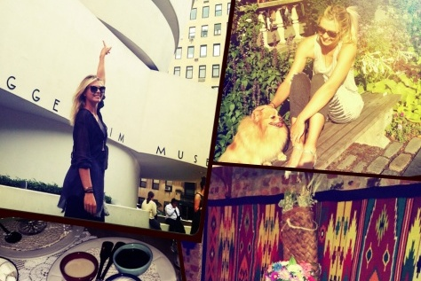 Summer Travel Diary: Tennis Star Maria Sharapova Takes New York