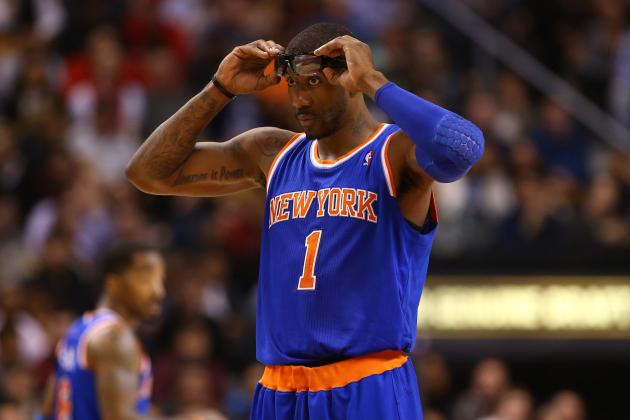 How Far Should NY Knicks Go To Trade Amar'e Stoudemire?