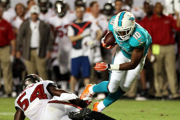 Breaking Down the Miami Dolphins' Use of Unconventional Slot Receivers