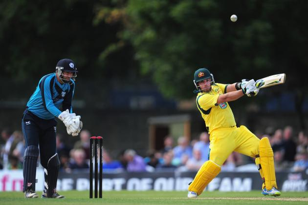 Australia vs. Scotland Cricket 2013: Aaron Finch Set to Inflict Pain on England
