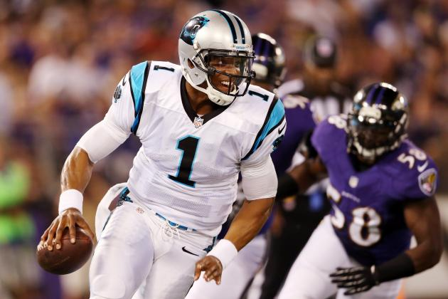 Breaking Down How the Seattle Seahawks Can Shut Down Cam Newton in Week 1